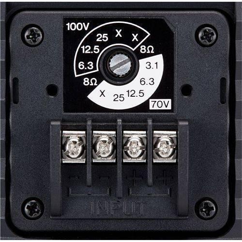 """Altavoz Yamaha VS6 intemperie 6.5"""" 100w  línea 70V / 100V / 8Ω (Par) negro"""