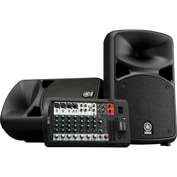 Sistema de Audio Yamaha Stagepas 600 Bluetooth