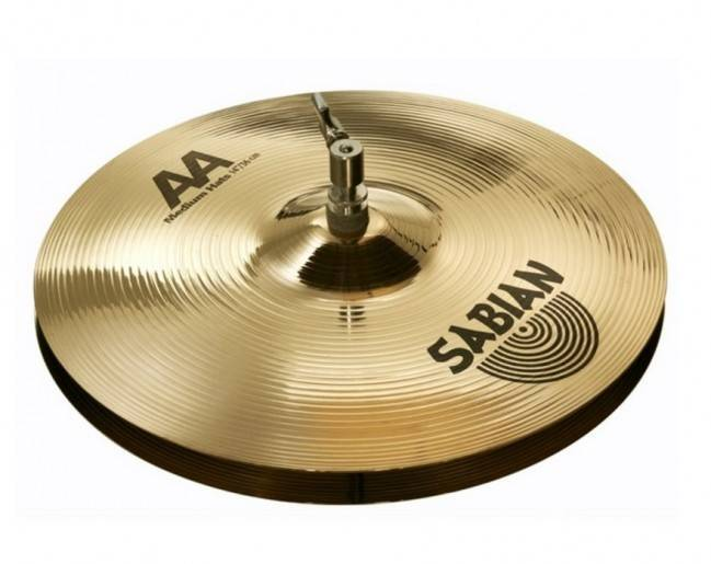Platillo Sabian AA Medium hats 21402