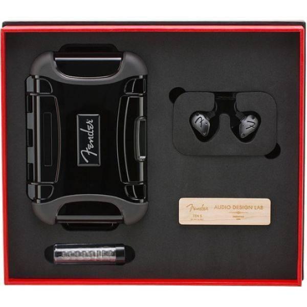 Audifonos Profesionales Fender IEM TEN 5 6813000033 color Plata