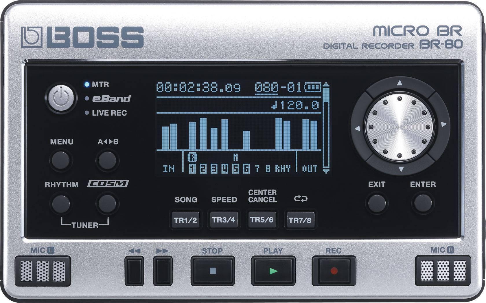 GRABADORA DIGITAL BOSS BR-80DSP