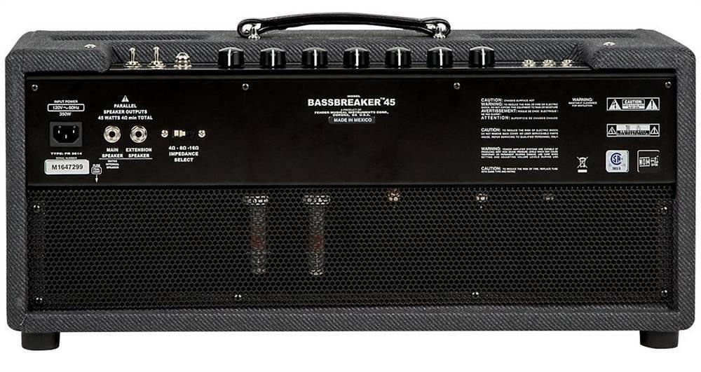 AMPLIFICADOR FENDER BASSBREAKER 45 HD 120V