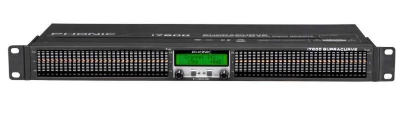 EQUALIZADOR Y ANALIZADOR DIGITAL PHONIC I7600