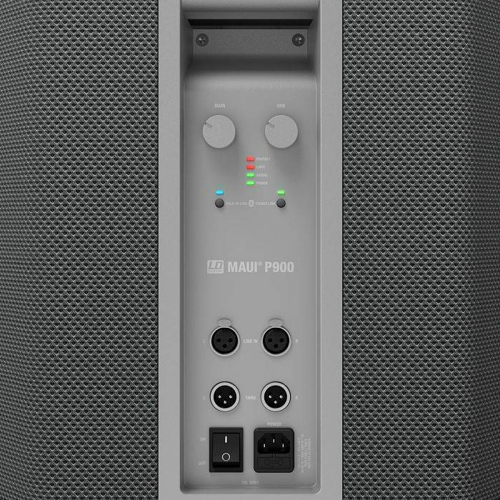 MAUI P900G Sistema Audio Profesional de Columna Color Gris Diseñado por Porsche Design Studio