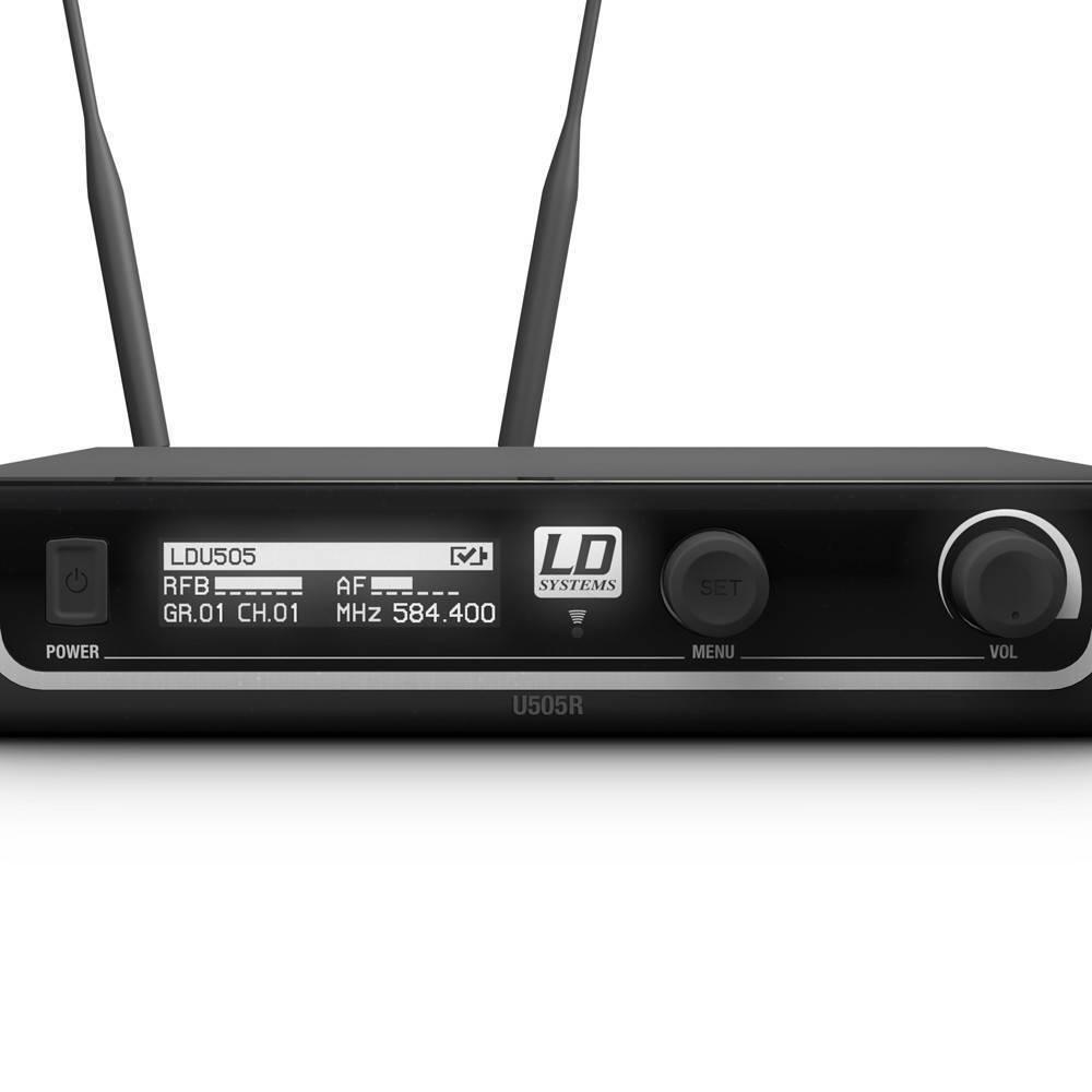 U505HHD Micrófono inalámbrico 584 – 608 MHz, 12 sistemas al mismo tiempo