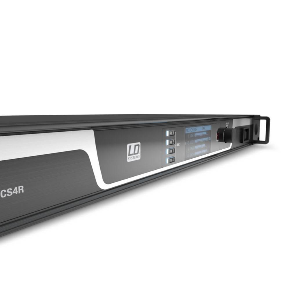 Sistema de conferencia inalámbrico de 4 canales LD Systems U505 CS4