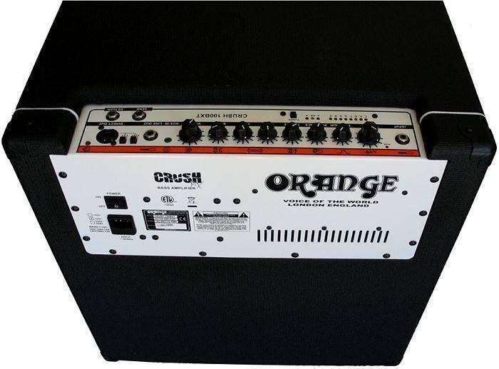 Combo bajo Orange Crush 100 Negro CR100BXTBLK