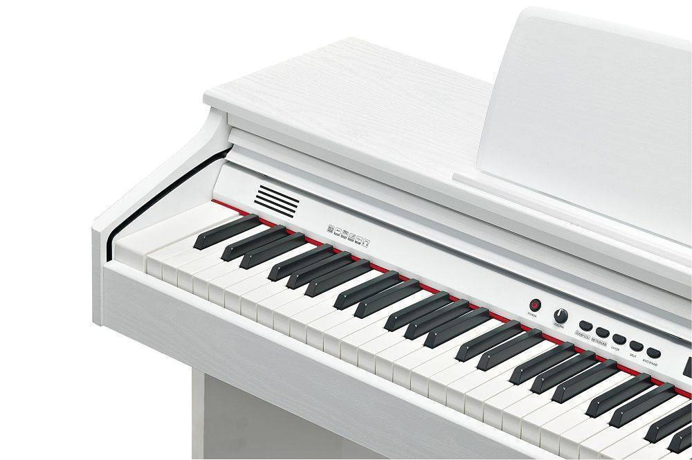 Piano con base Kurzweil KA130 color Blanco
