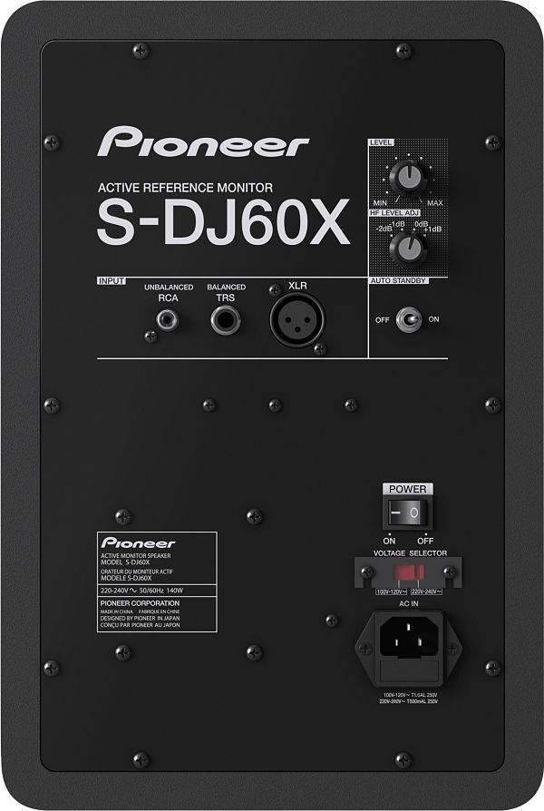 Monitores activos Pioneer S-DJ60X