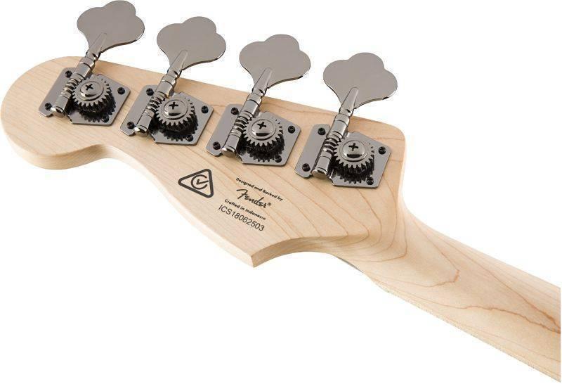 Bajo Fender Contemporary Jazz Bass HH blanco 0370450505
