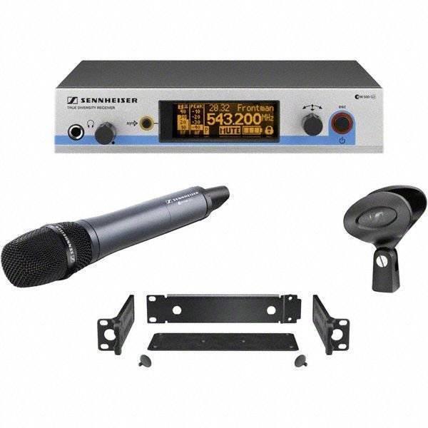 Set para vocalistas con micrófono supercardioide