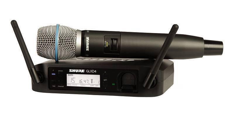 Sistema de microfonia inalambrico GLXD24/B87A