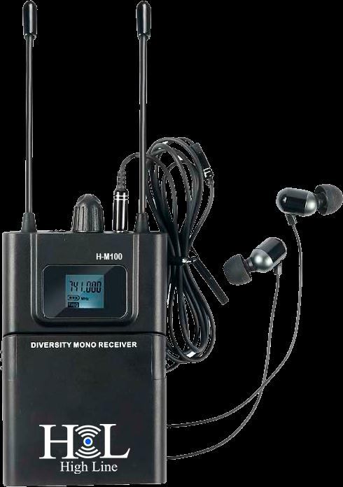 H-M100 RECEPTOR IN EAR HIGH LINE