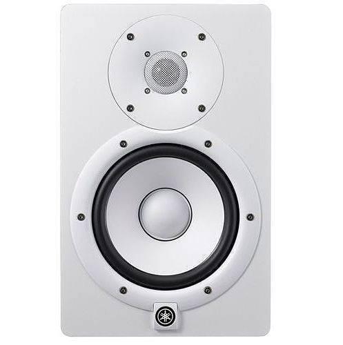 Monitor Amplificado Yamaha HS7W blanco