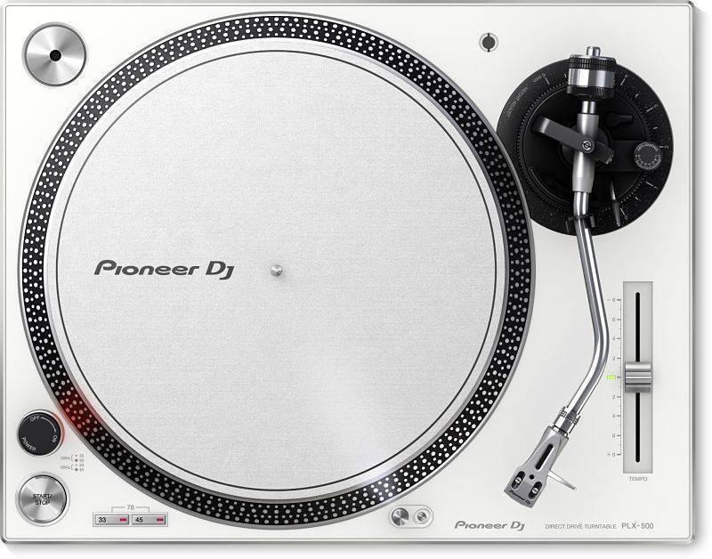 Tornamesa Pioneer PLX-500 W Blanca