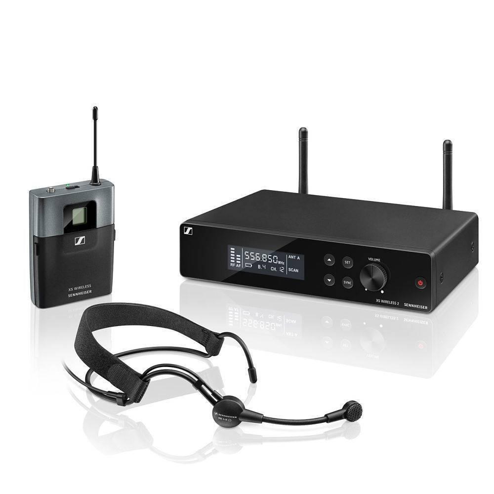 Sistema de microfonia inalambrica Sennheiser diadema XSW2-ME3
