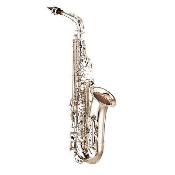 Saxofón Alto Profesional Plateado YAS-62S