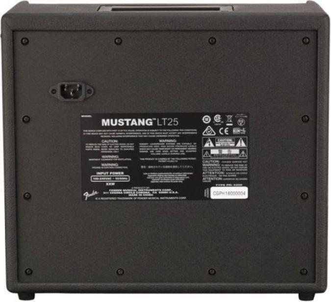 Amplificador Fender Mustang LT25 2311100000