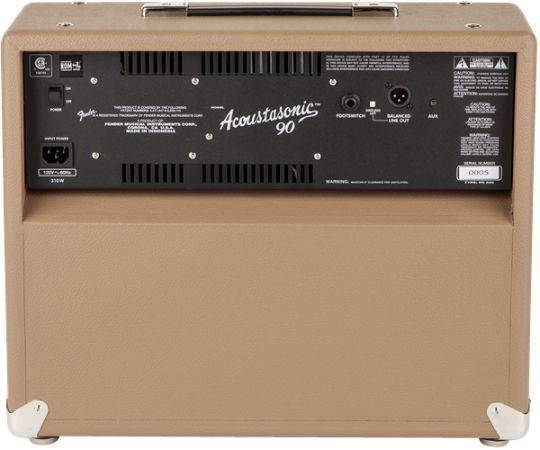 Amplificador Fender acoustasonic 90 2313800000