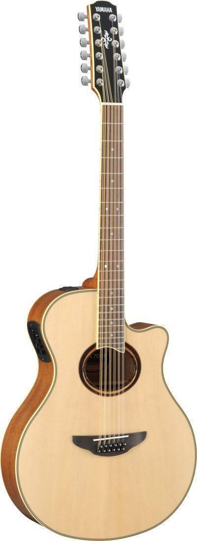Guitarra electroacustica Yamaha APX700II-12NT 12 cuerdas