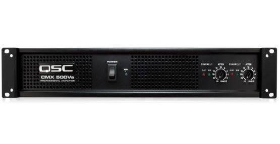 Amplificador de 2 canales de 300W por canal