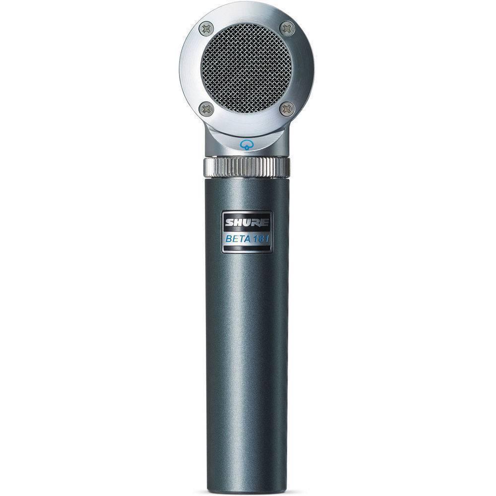 Micrófono ultracompacto de captación lateral Supercard.