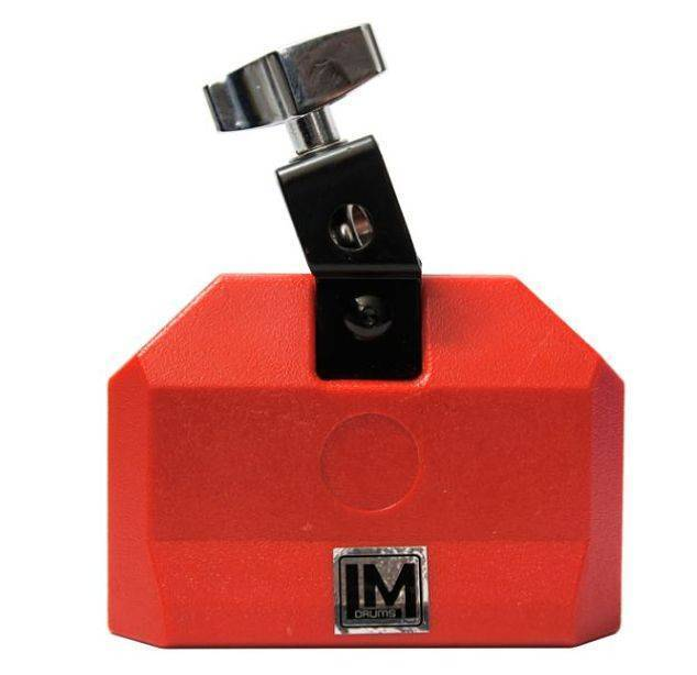 JAM BLOCK TONO AGUDO COLOR ROJO CHICO LM DRUMS CB02B