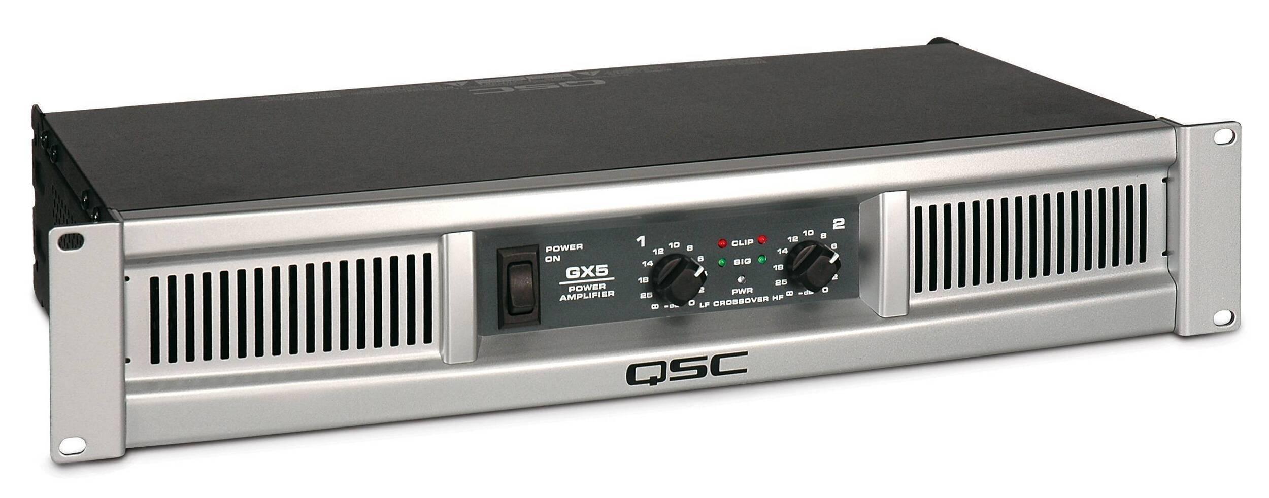 Amplificador estéreo QSC GX5