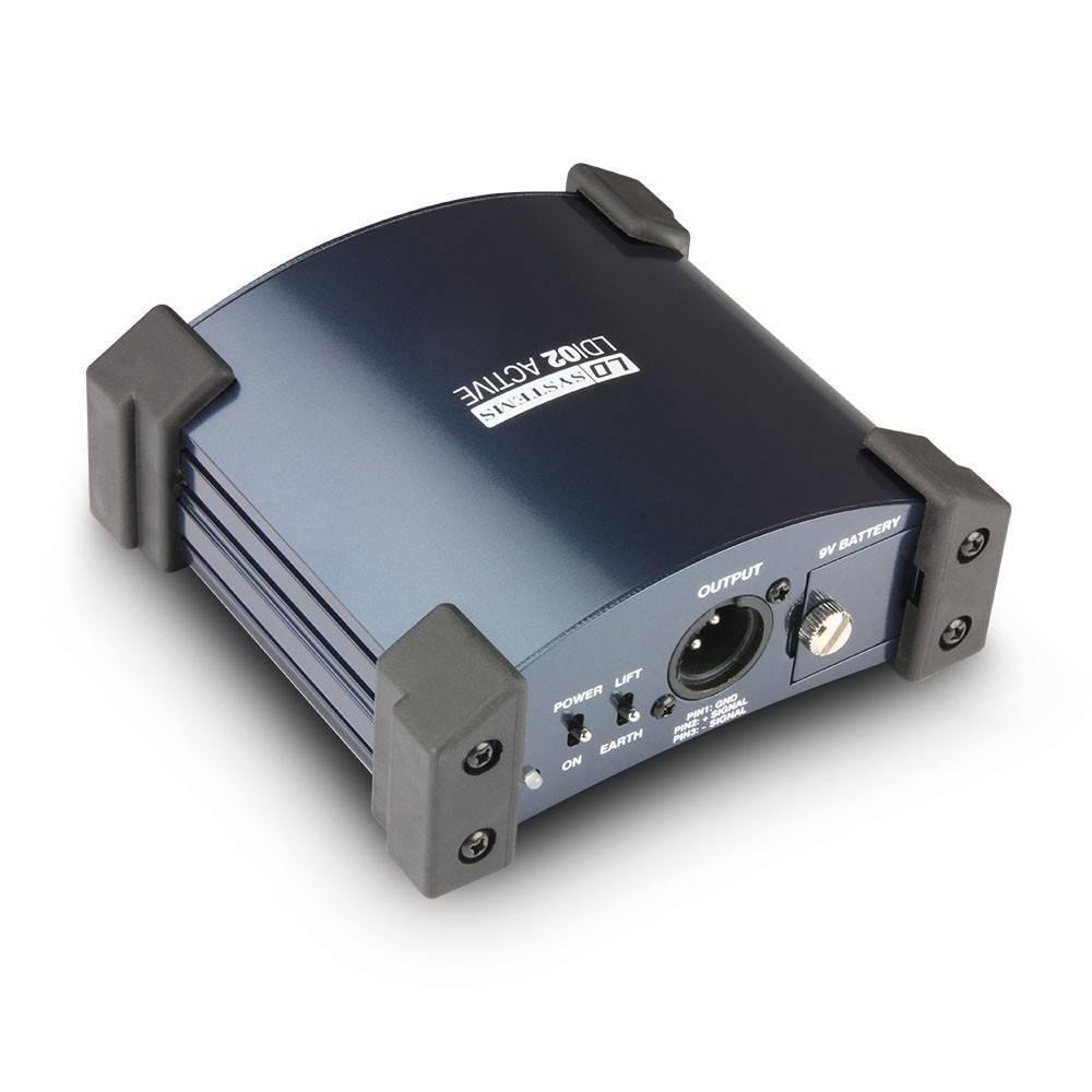 I02 Caja Directa Activa LD Systems