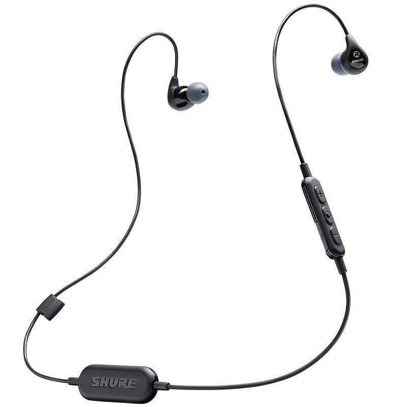 Shure SE112-BT1 Audífonos In-Ear Inalámbricos, Color Negro