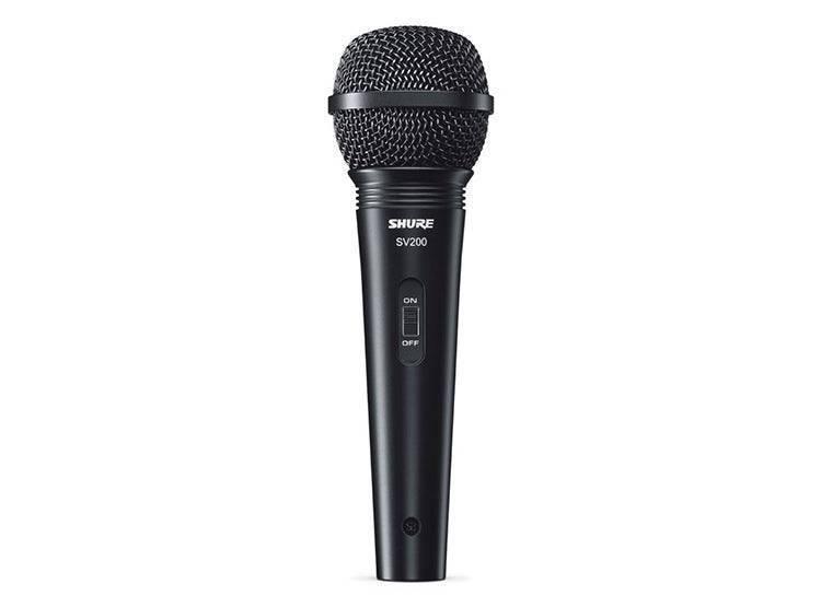 Microfono Shure SV200 Con Cable Xlr-Xlr