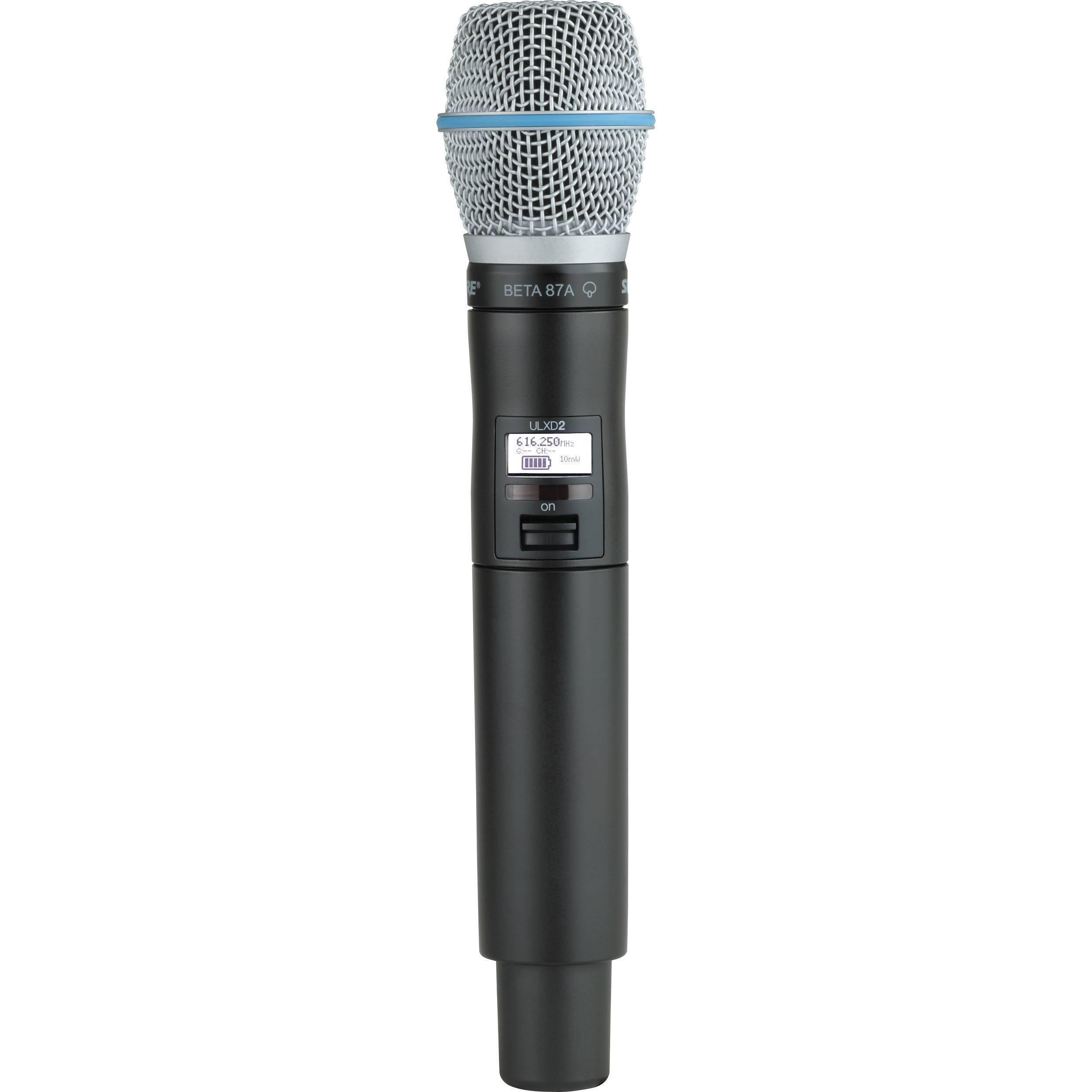 Transmisor de mano con micrófono BETA 87A ULXD2/B87A