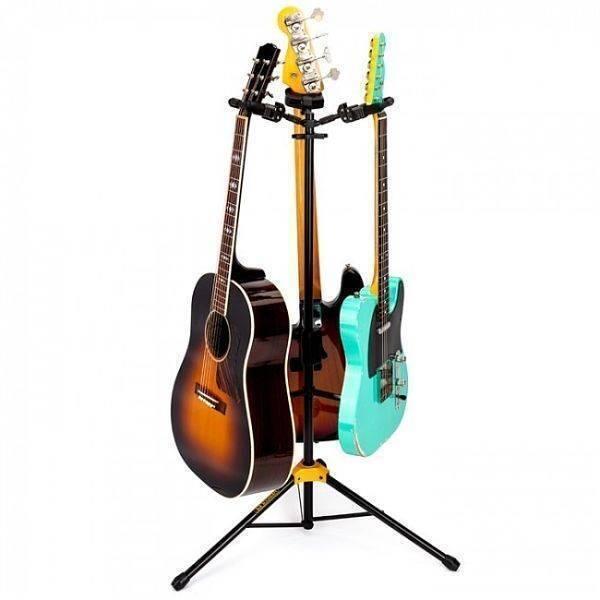Atril Hercules para 3 guitarras GS-432B