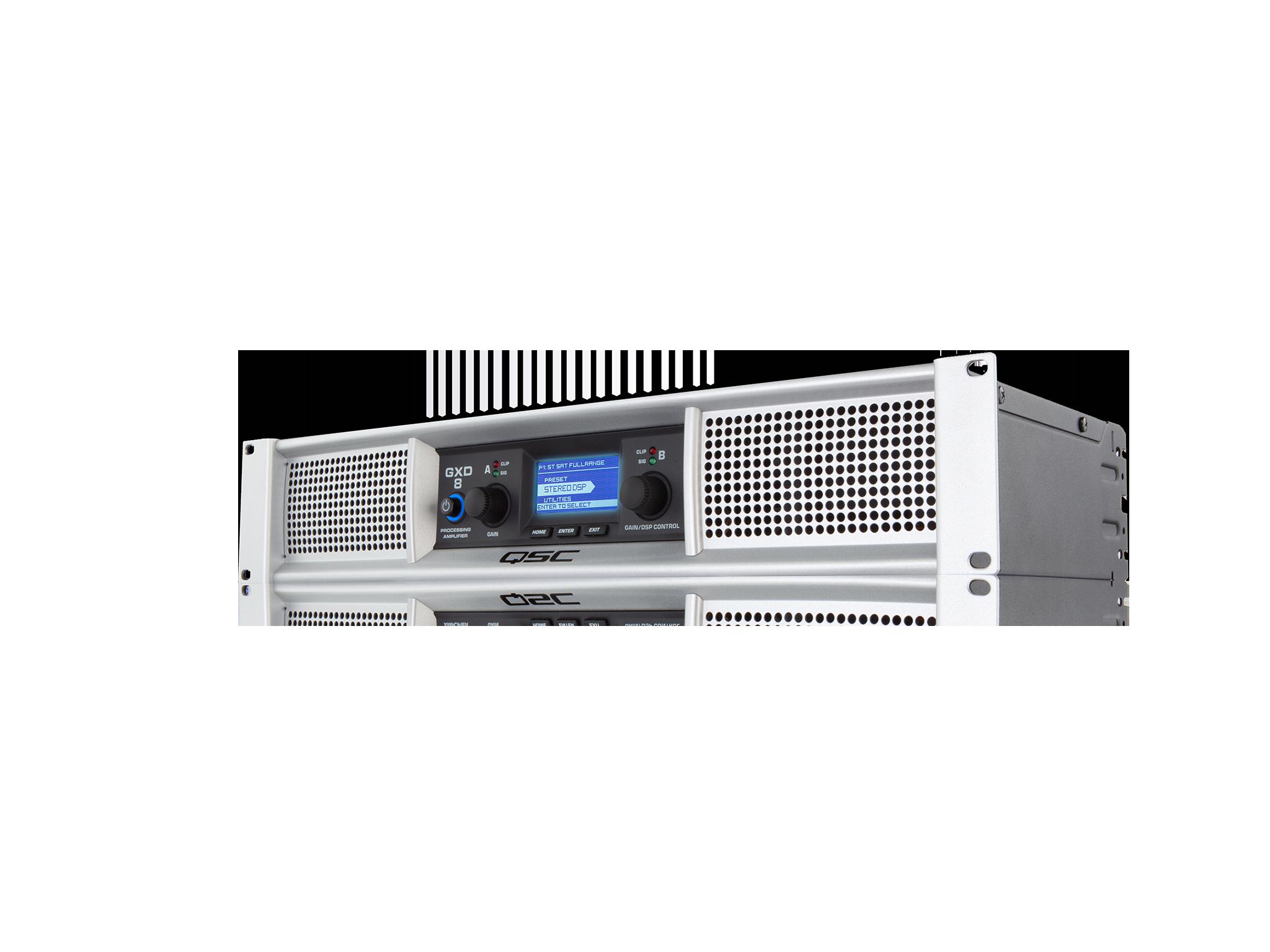 Amplificador QSC GXD8 Digital