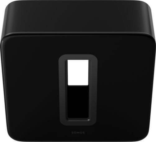 Subwoofer Sonos para graves más profundos color Negro