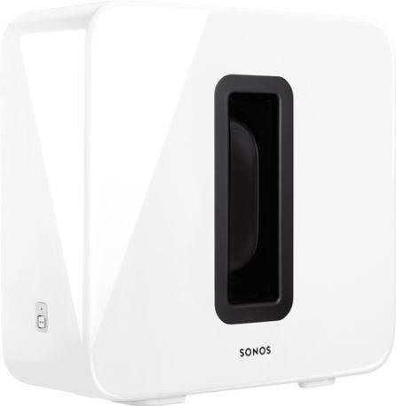 Subwoofer Sonos para graves más profundos color Blanco