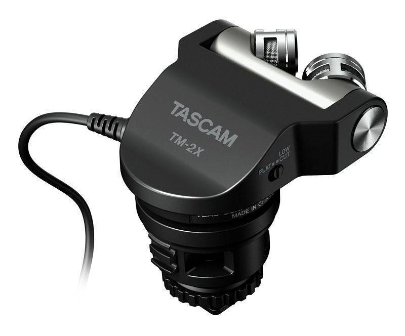 Microfono Tascam TM-2X Stereo XY Condenser DSLR