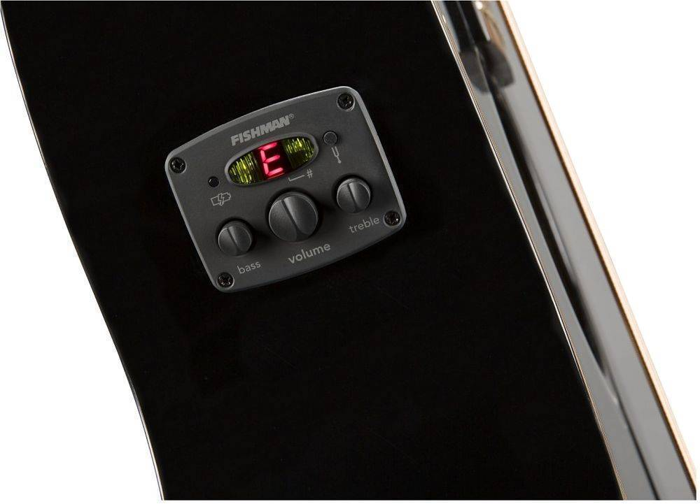 Bajo electroacustico Fender CB-60SCE Negro 0970183006