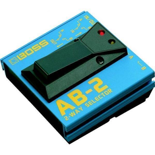 Pedal Selector de 2 vías metal color azul