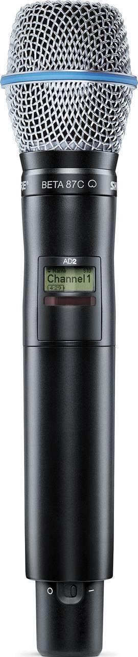 Transmisor de mano Axient Digital, con BETA87C