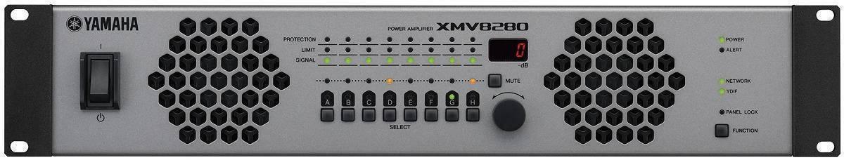 Amplificador Multicanal Análogo XMV8280