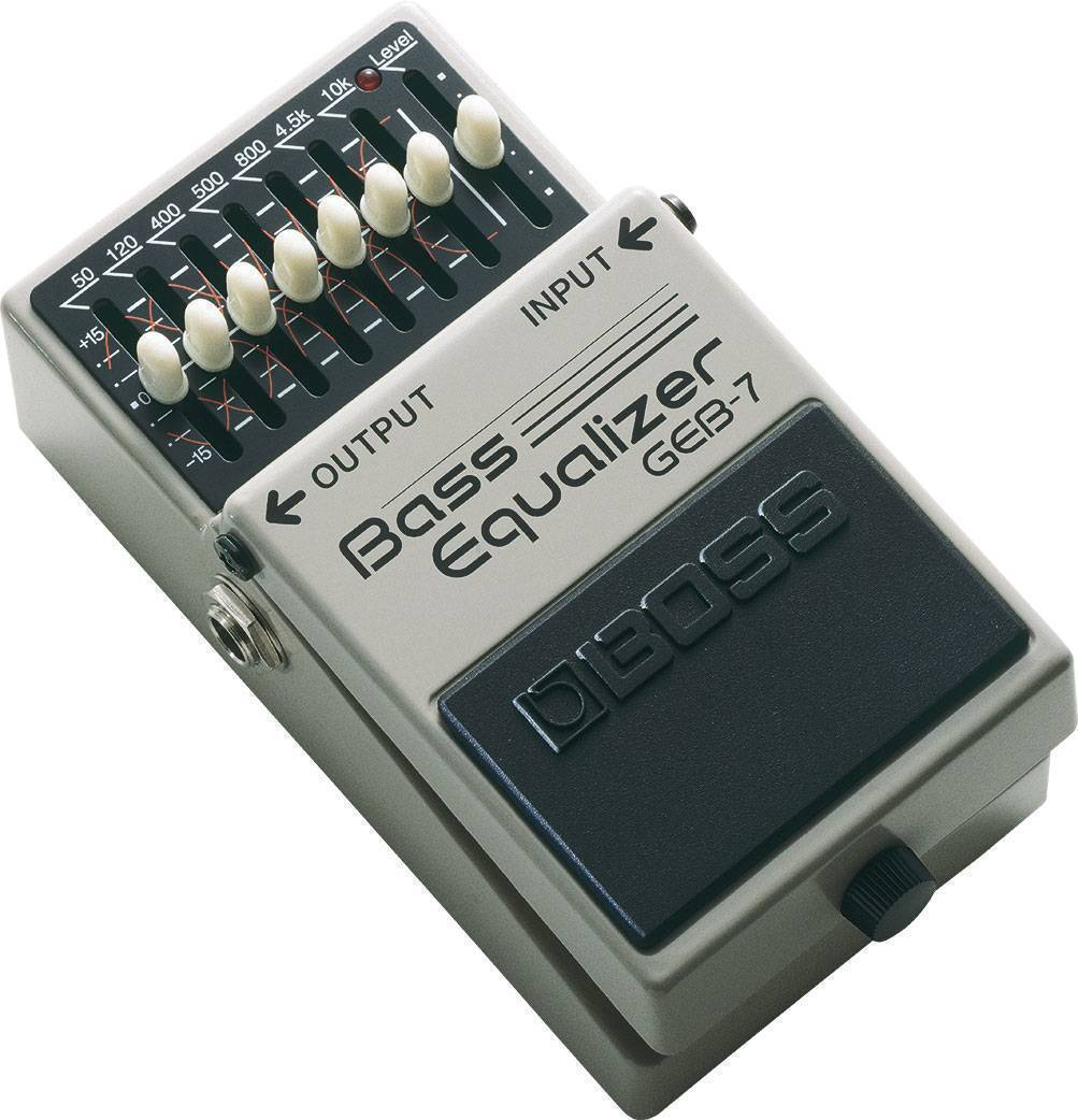 Pedal Compacto p/bajo Bass Equalizer