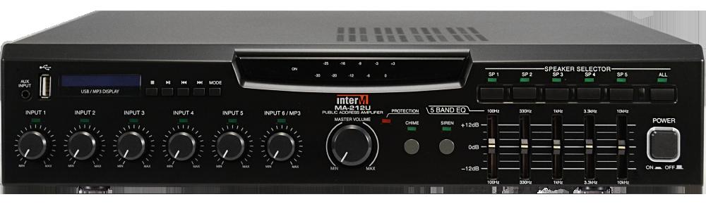 Amplificador Mezclador120 Watts con usb