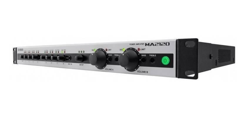 Amplificador y Mixer para instalaciones MA2120