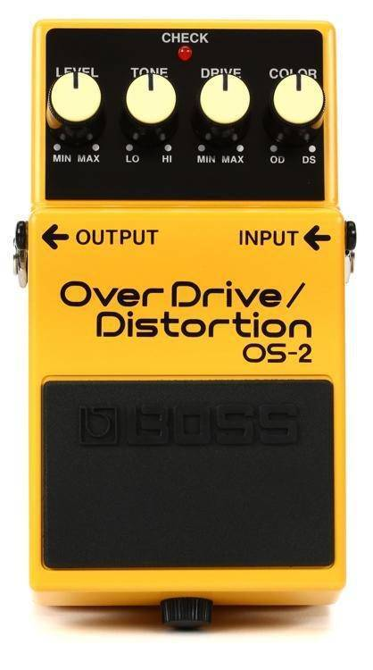 Pedal Compacto OverDrive/Distortion