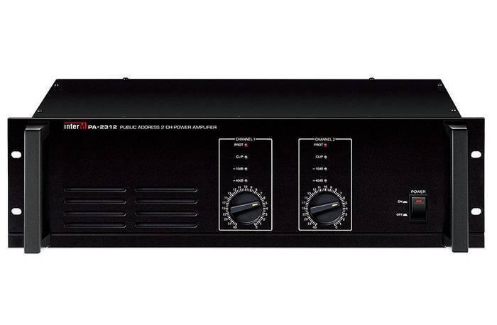 Amplificador Reforzador de dos canales a 70V