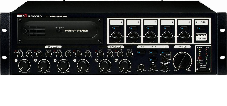 Amplificador mezclador digital de 240W
