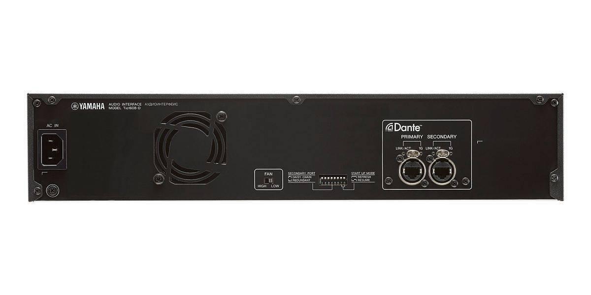 Snake digital Yamaha TIO1608D con Conexión Dante / 16x8 canales