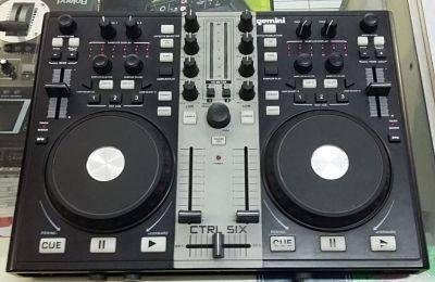 Control P/Software Virtualdj C/Salida Audio Gemini