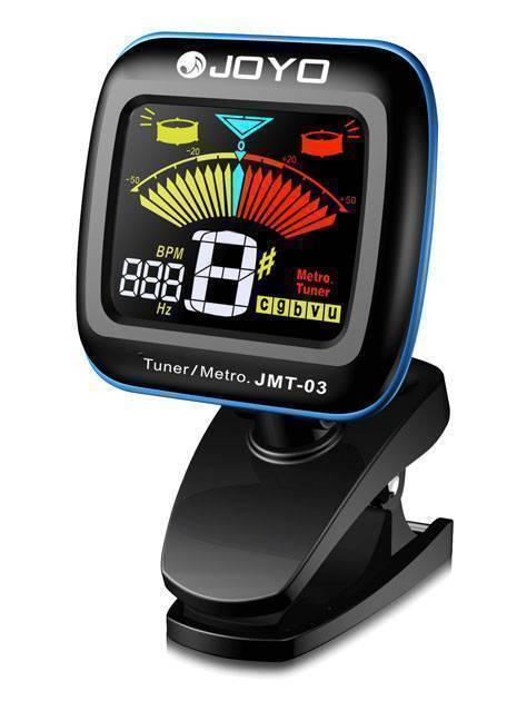 Afinador y metronomo de clip color display tono